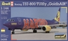 1:144 Boeing 737-800(W), TUIfly 'GoldbAIR' (blue cs)