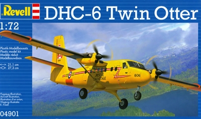 1:72 DHC-6 Twin Otter, RCAF Search & Rescue, West Coast Air