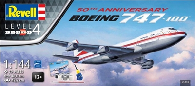1:144 Boeing 747-100, Boeing '1969 Roll Out' cs