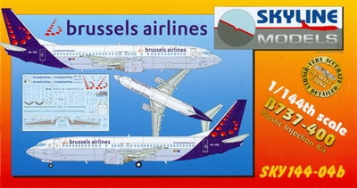 1:144 Boeing 737-400, Brussels Airlines
