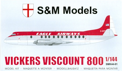1:144 Vickers Viscount 800, Eagle Airways