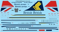 1:144 Singapore Airlines / British BAC Sud Concorde