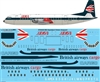 1:144 BEA 'Speedjack' / British Airways V.950 Vanguard