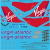 1:144 Virgin Atlantic Airbus A.340-300