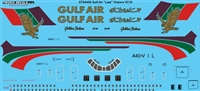 1:144 Gulf Air (final cs) Vickers VC-10