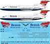 1:144 British Airways, British, HS.121 Trident 1C/2E