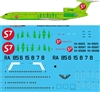 1:144 S7 Siberia Airlines Tupolev 154M