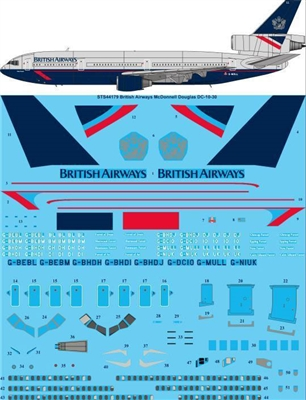 1:144 British Airways (Landor) McDD DC-10-30