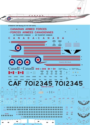 1:144 Canadian Armed Forces Boeing CC-137 (707-320C)