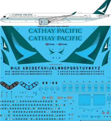1:144 Cathay Pacific Airbus A.350-1000