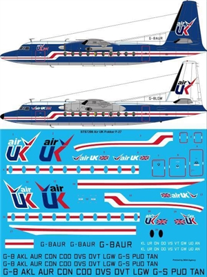 1:72 Air UK Fokker F.27