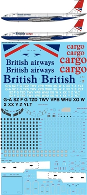1:72 British Airways / Cargo Boeing 707-336B/C
