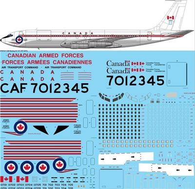 1:72 Canadian Armed Forces Boeing CC-137 (707-320C)
