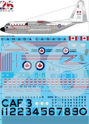 1:72 Canadian Armed Forces  C.130E Hercules