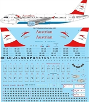 1:144 Austrian Airlines Airbus A.320