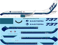 1:144 Eastern Airlines Boeing 737-800W