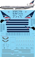 1:144 Delta Airlines McDD MD-11