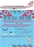 1:144 THY Turkish Airlines Retro Airbus A330-200