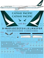 1:144 Cathay Pacific (2015 cs) Boeing 777-200 / -300ER