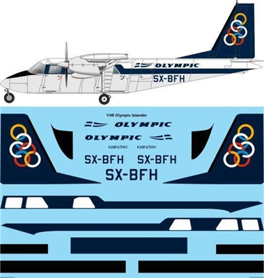 1:48 Olympic Airlines BN.2A Islander