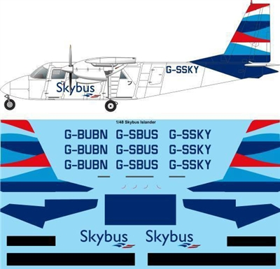 1:48 Isle of Scilly Skybus BN.2A Islander