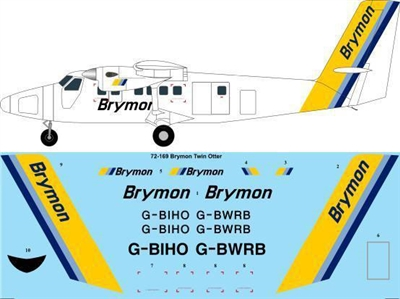 1:72 Brymon Airways DHC-6 Twin Otter