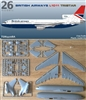1:144 L.1011 Tristar 1, British Airways, British
