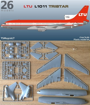 1:144 L.1011 Tristar 1, LTU Germany