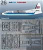 1:144 Fokker F.27-200 Friendship, Air UK