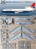 1:144 L.1011 Tristar 500, British Airways, British