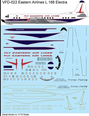 1:115 Eastern Airlines (spear cs) L.188 Electra
