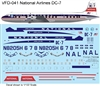 1:122 National Airlines (delivery cs) Douglas DC-7