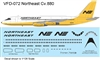 1:126 Northeast (Yellowbird cs) Convair 880