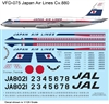 1:126 Japan Air Lines Convair 880
