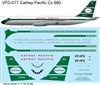 1:126 Cathay Pacific Convair 880