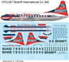 1:126 Braniff (delivery cs) Convair 340