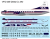 1:126 Delta Airlines Convair 340