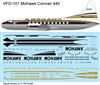 1:126 Mohawk Airlines Convair 440