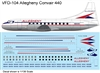 1:126 Allegheny Airlines Convair 340