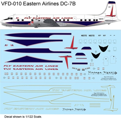 1:144 Eastern Airlines (1961 cs) Douglas DC-7B