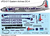 1:144 Eastern Airlines (1955 cs) Douglas DC-4