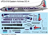 1:144 Eastern Airlines 'Ship by Eastern' Douglas DC-4