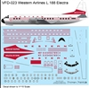 1:144 Western Airlines (final cs) L.188 Electra