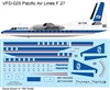 1:144 Pacific Airlines (final cs) Fokker F.27