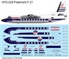 1:144 Piedmont Airlines (delivery cs) Fokker F.27