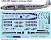 1:144 Eastern Airlines (early cs) L.649 Constellation