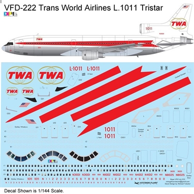 1:200 Trans World Airlines (delivery cs) Lockheed L.1011 Tristar