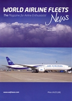 World Airline Fleets News 250 June 2009 *Sold Out*