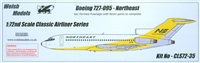 1:72 Boeing 727-31, Northeast Airlines