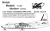1:144 Fokker F.27, Channel Express